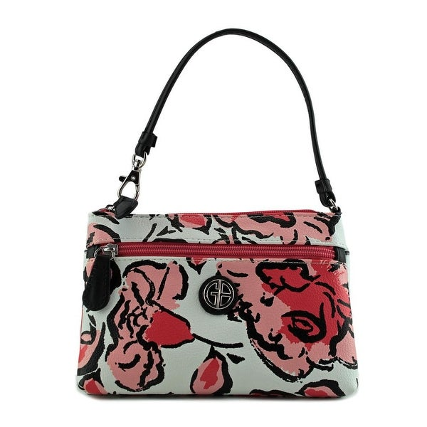 Giani Bernini Floral All-In-One Wristlet Women Dp Sea Coral Mu Handbag