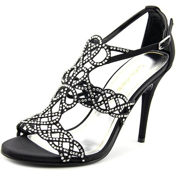 Caparros Armani Women Open-Toe Canvas Heels