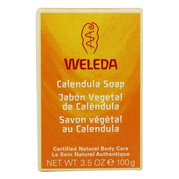 Weleda - Baby Calendula Soap - 3.5 oz. - White. Opens flyout.