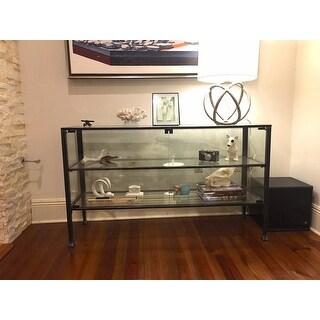 ... Harper Blvd Terrarium Display Curio/Sofa/ Console Table