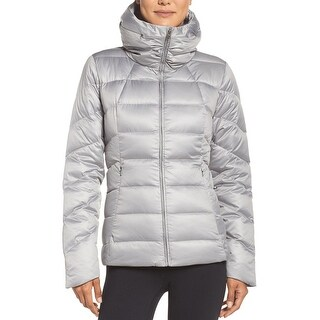 Patagonia Womens Slim Fit Downtown Loft Jacket Large L Grey $279