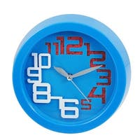Unique Bargains Arabic Numbers Display Metal Hands Wall Clock for Home Office