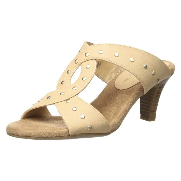 8fac6c213152 Shop Aerosoles A2 Women s Powssibility Slide Sandal - 7 - Free Shipping  Today - Overstock - 24030560