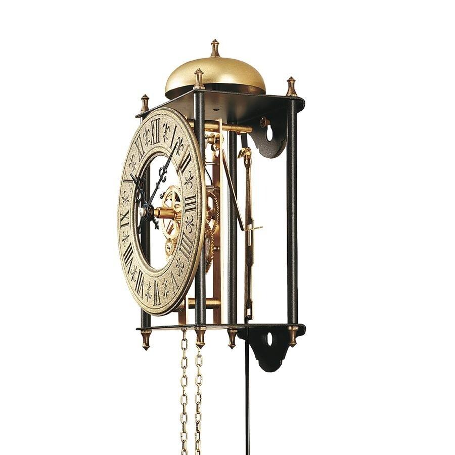 Design Toscano The Templeton Regulator Wall Clock On Sale Overstock 19833125