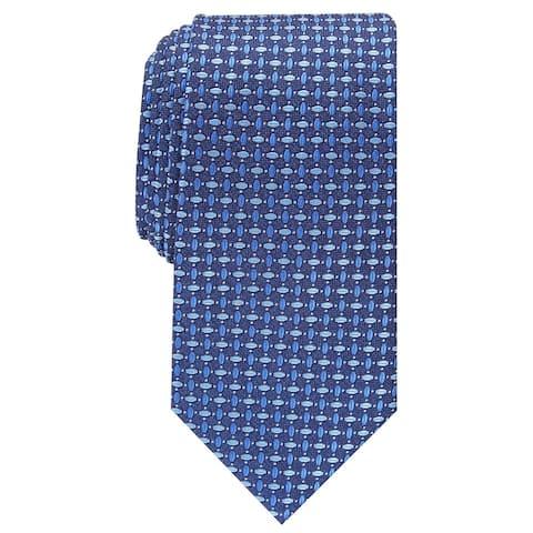 Perry Ellis Men's Hillern Neat Tie Navy Size Regular