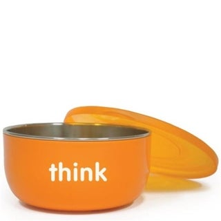 Thinkbaby HG1205392 BPA Free Ceral Bowl, Orange