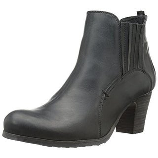 Fidji Womens Booties Leather Stretch