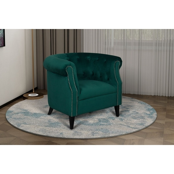 Argenziano Chesterfield Accent Chair. Opens flyout.