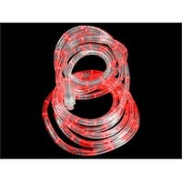 18' Red LED Indoor/Outdoor Christmas Rope Lights