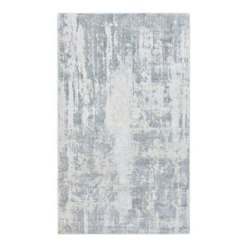 Hagues Contemporary Abstract Hand Loomed Area Rug