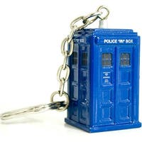 Doctor Who Diecast TARDIS Keychain - Multi