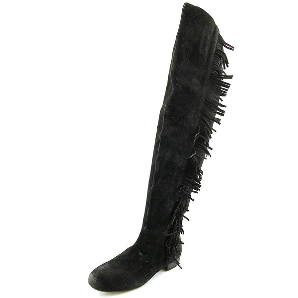 5de2ad87c24fb Nine West Pretaport Women Black Boots - Free Shipping On Orders Over ...