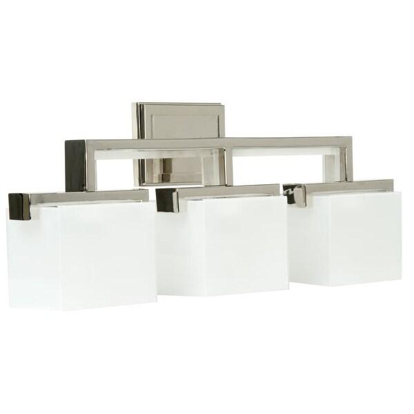 "Craftmade 18226-3 Kade 26"" Wide 3 Light Bathroom Vanity Light - Polished Nickel"