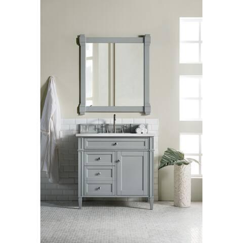 "Brittany 36"" Single Cabinet, Urban Gray"