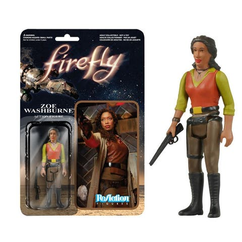 Firefly Zoe Washburne ReAction Figure - Multi