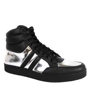 Gucci Men's High top Contrast Padded Leather Sneaker 368494