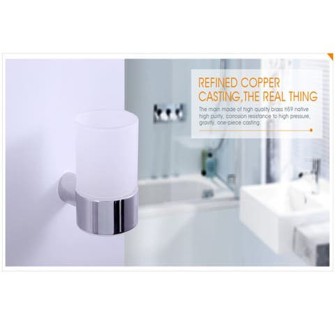 Decorative Plastic Bathroom Toothbrush and Toothpaste Stand Holder - White
