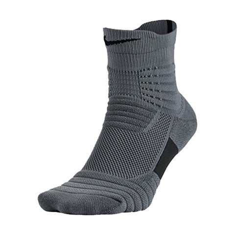 Nike Elite Versatility Mid Quarter Adult Basketball Athletic Training Socks