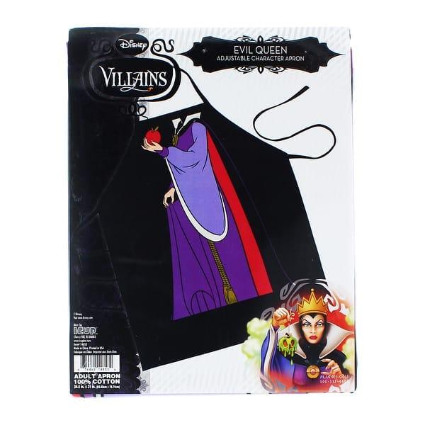 Shop Black Friday Deals On Disney Villain Evil Queen Character Apron Multi Overstock 13726658