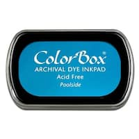 ColorBox Archival Dye Ink Pad Full Sz Poolside