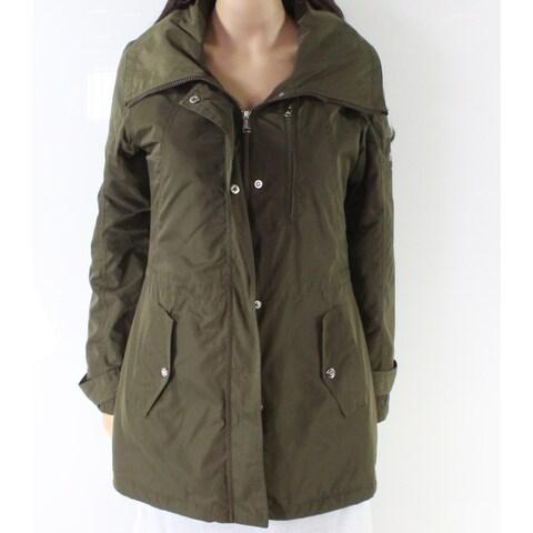 Lauren by Ralph Lauren Green Women's Size XS Zip Front Jacket