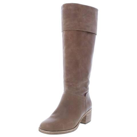 Ugg Womens Carlin Knee-High Boots Leather Fashion