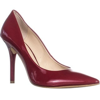 Guess Plasmas2 Pointed Toe Classic Pumps, Dark Red - 9 us