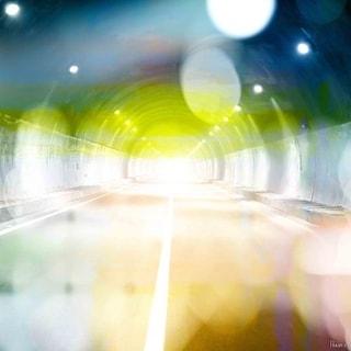 Parvez Taj Tunnel Lights Art Print on Premium Canvas