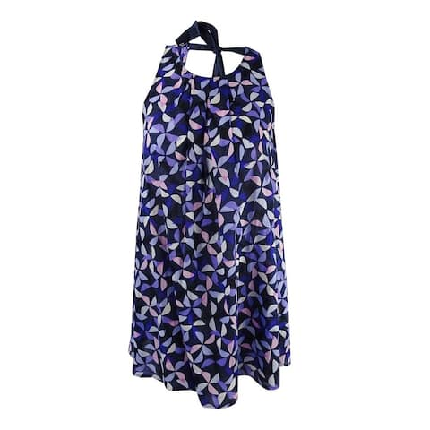 Kate Spade NY Women's Spinner Dress Cover-Up (Rich Navy, M) - Rich Navy - M