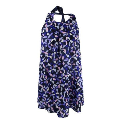 Kate Spade NY Women's Spinner Dress Cover-Up (Rich Navy, S) - Rich Navy - S