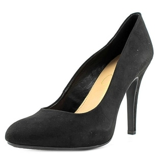 Jessica Simpson Malia Women Round Toe Synthetic Black Heels