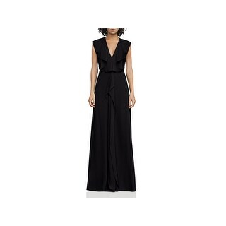 BCBG Max Azria Womens Evette Evening Dress Sleeveless Full-Length