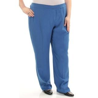 Womens Blue Wear To Work Pants Size 20W