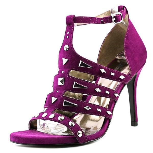 Carlos by Carlos Santana Power Women  Open Toe Canvas Purple Sandals