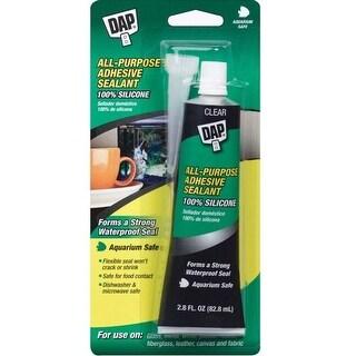 Dap 00688 Silicone Household Adhesive Sealant, Clear, 2.8 Oz
