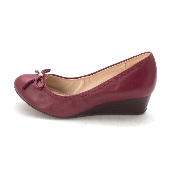 Cole Haan Womens Malchensam Closed Toe Wedge Pumps - 6