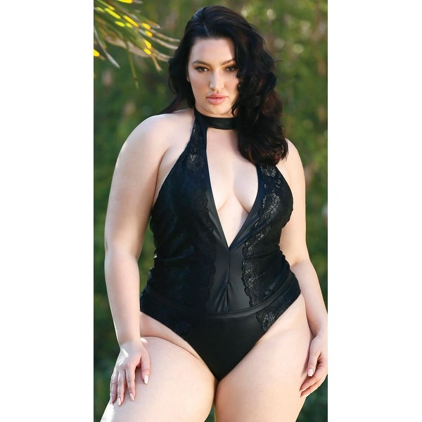 fbddd293ac425 Shop Plus Size Mystique In Morocco Swimsuit - Ebony - Free Shipping Today -  Overstock - 27968656