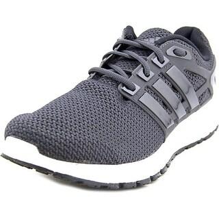 Adidas Energy Cloud  Men  Round Toe Synthetic Black Running Shoe