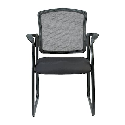 Eurotech Seating Dakota Guest Chairs, Sled Base with Arms