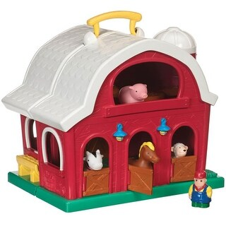 Toddler's First Big Red Barn