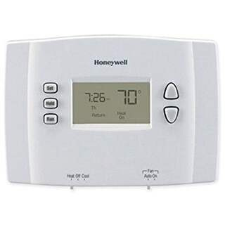 Honeywell RTH221B1021/E1 Programmable 1-Week Thermostat - White