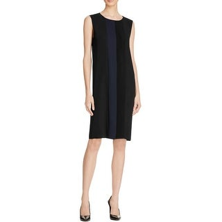 Magaschoni Womens Casual Dress Ponte Pintuck