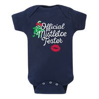 Official Mistletoe Tester - Infant One Piece