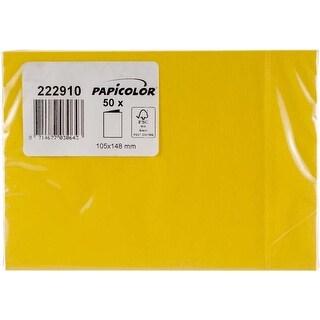 Buttercup Yellow - Papicolor A6 Folded Cards 50/Pkg