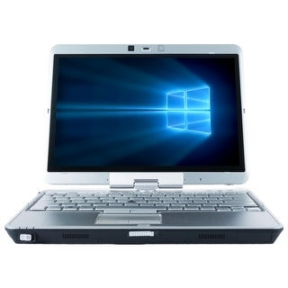 Refurbished HP Elitebook 2760P 12.1'' Laptop Intel Core i5-2520M 2.5G 4G DDR3 500G Win 10 Pro 1 Year Warranty - Silver