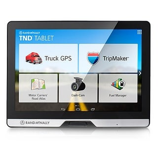 "Rand McNally TND Tablet 8"" Widescreen Display w/ Real-Time Traffic Compatible"