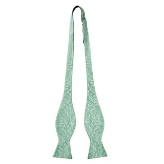 Jacob Alexander Men's Self Tie Freestyle Floral Bow Tie - One size
