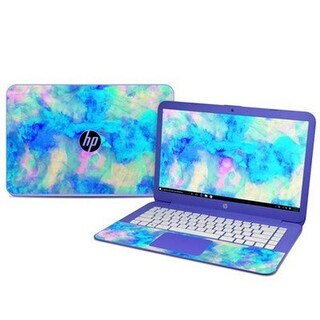 DecalGirl HS14-ELECTRIFY HP Stream 14 in. Skin - Electrify Ice Blue