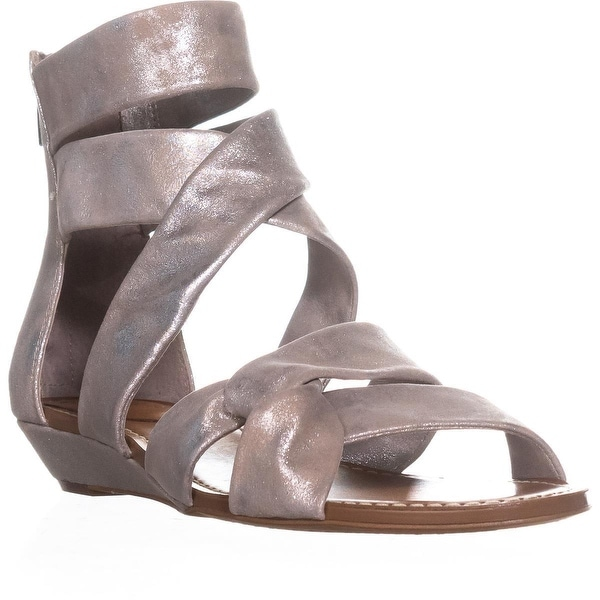 Vince Camuto Seevina Gladiator Sandals, Sandy Silver - 9 us / 40 eu