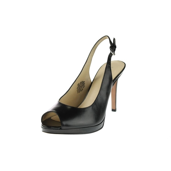 7e36a80ef7d Shop Nine West Womens Emilyna Pumps Slingback - Free Shipping On Orders  Over  45 - Overstock - 14291740
